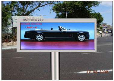 الإعلان شاشة LED شفافة ، CE 16mm Pitchel Pixel Electronic Display Board